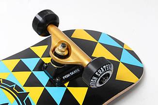 Скейтборд деревянный от fish skateboard eye dmf, фото 3