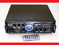 Усилитель звука Sonixin AV-339BT + USB + Fm + Mp3 + КАРАОКЕ + Bluetooth, фото 1