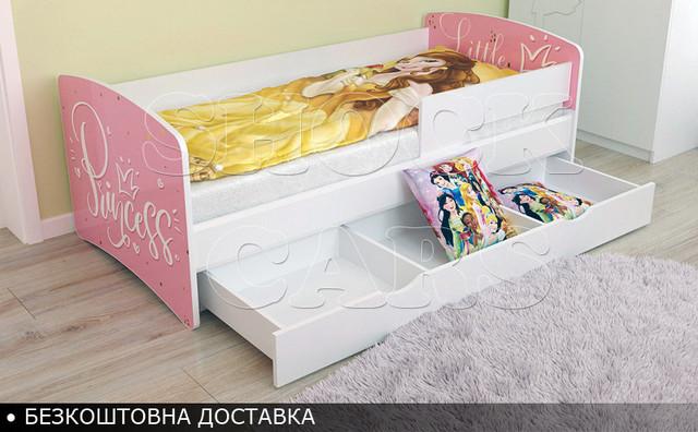 Кровать для девочки Принцесса Киндер Кул купить екдорого