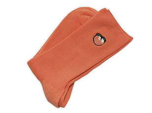 Шкарпетки Neseli вишивка Персик