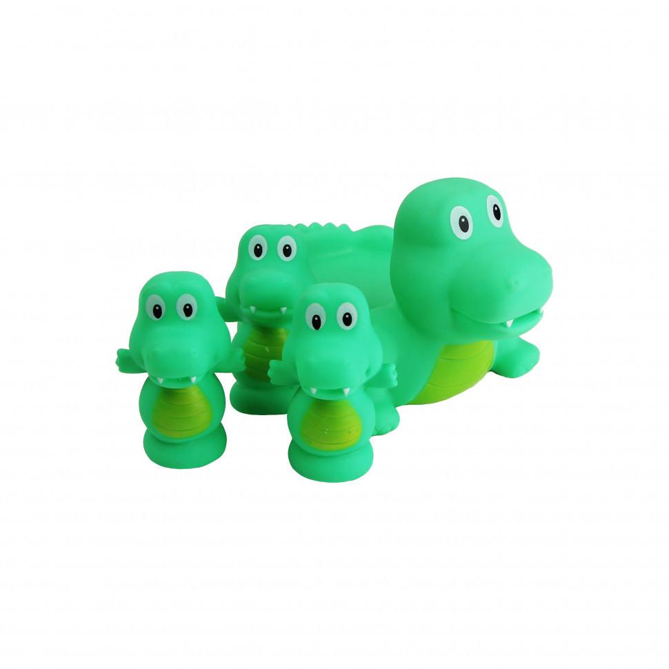Игрушка для купания 522-3-4 (Крокодил)