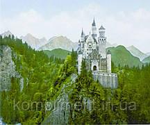 """Картина по номерам  """"Замок на сколе"""" 40*50 см, краски - акрил"""