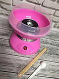 Аппарат для приготовления сладкой ваты Cotton Candy Maker + палочки для сладкой ваты, фото 4