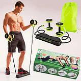 Колесо для фитнеса revoflex xtreme / Тренажер Revoflex Xtreme с 6-ю уровнями тренировки, фото 8