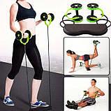 Колесо для фитнеса revoflex xtreme / Тренажер Revoflex Xtreme с 6-ю уровнями тренировки, фото 9