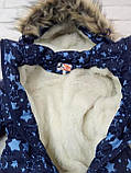 Детский зимний комбинезон трансформер на меху 0-14 месяцев, фото 2