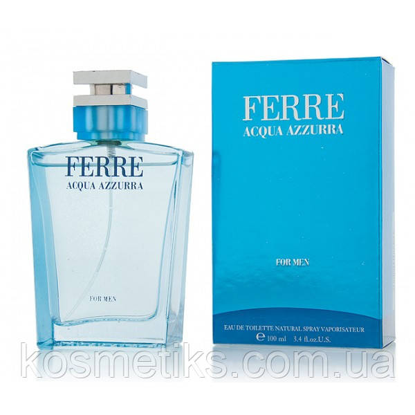 Ferre Acqua Azzurra for Men edt 100 ml (лиц.)