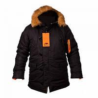 Куртка Chameleon Аляска зимняя N-3B Black, фото 1