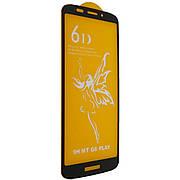 Захисне скло 6D на Motorola G6 PLAY Black