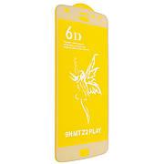 Защитное стекло 6D на Motorola Z2 PLAY White