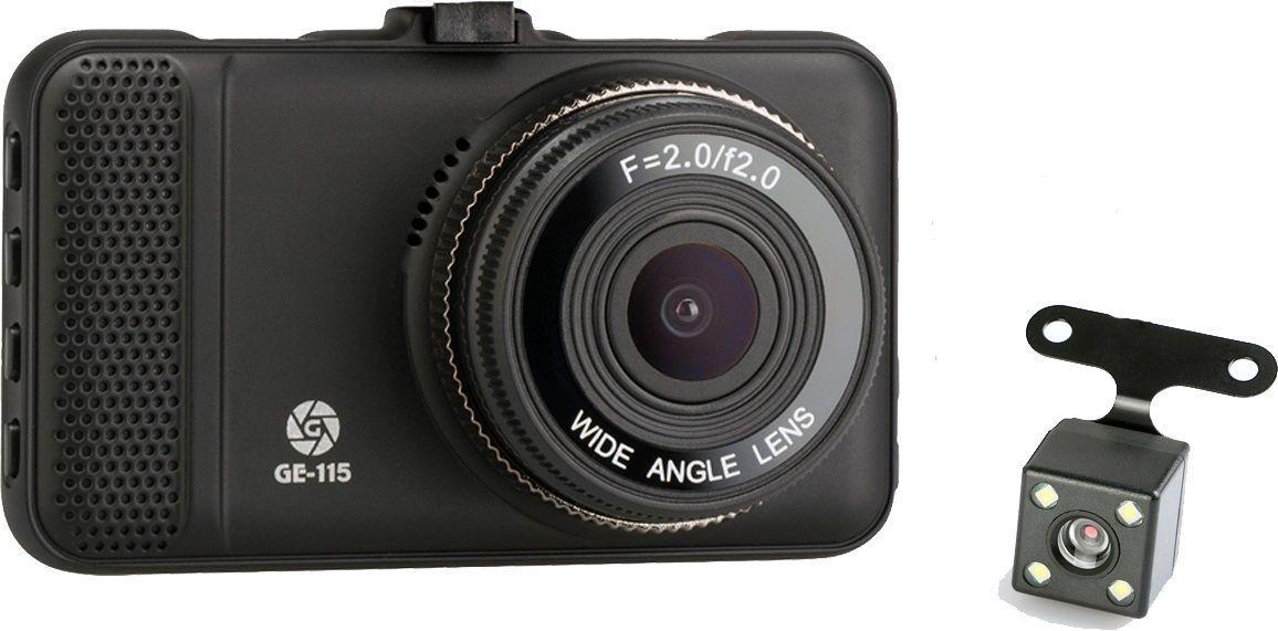 Відеореєстратор Globex GE-115 Black