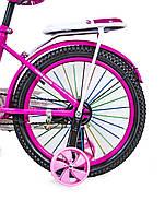 """Велосипед 18 """"SCALE SPORTS"""" Розовый T18, Ручной  и дисковый  тормоз Быстрая Доставка Гарантия Качества, фото 3"""
