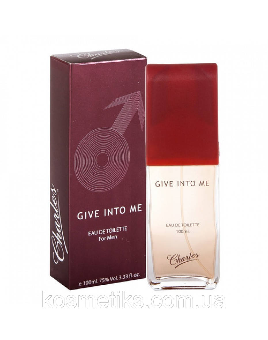 Charles Give into Me French Impression Men EDT 100 ml арт.33927