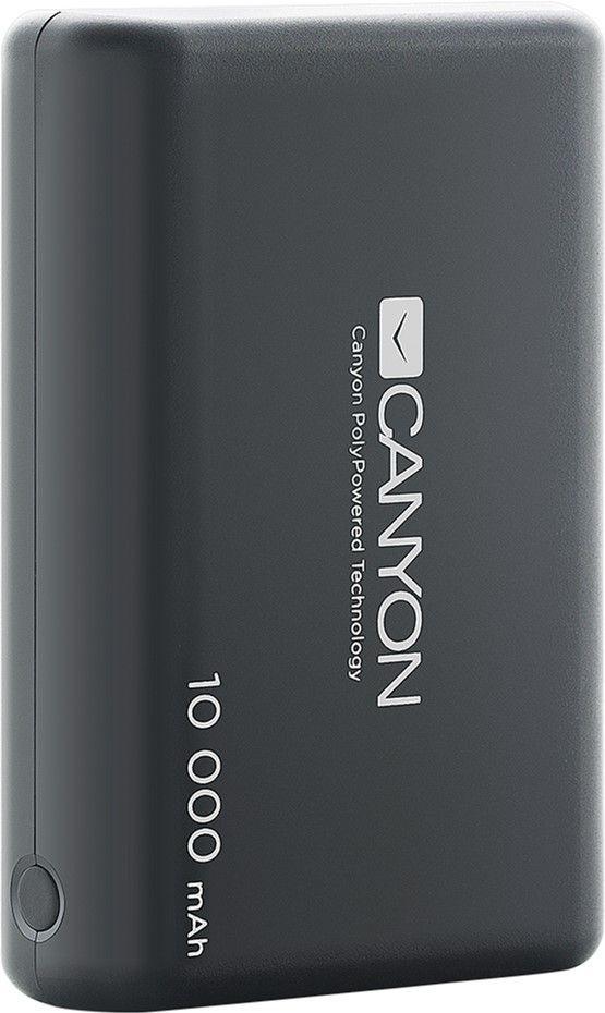 Повербанк Canyon 10000mAh Black (CNS-CPBP10B)