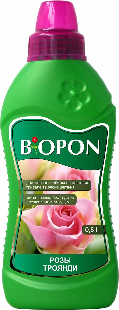 Минеральное удобрение для роз Biopon, 500 мл
