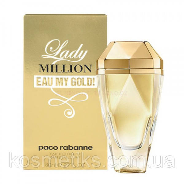 Paco Rabanne Lady Million Eau My Gold edt 80ml (осіб)