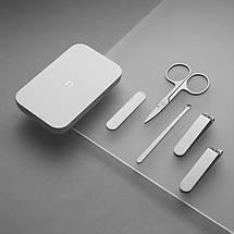 Маникюрный набор Xiaomi Mijia Nail Clipper Five Piece Set Silver (5 в 1), фото 3