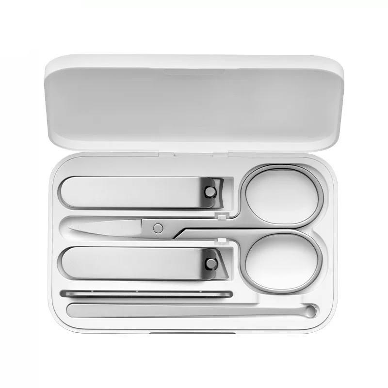 Маникюрный набор Xiaomi Mijia Nail Clipper Five Piece Set Silver (5 в 1)