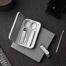 Маникюрный набор Xiaomi Mijia Nail Clipper Five Piece Set Silver (5 в 1), фото 2