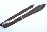 Ремень для ружья трапеция Ретро коричневый комбинированный