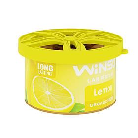 Ароматизатор Organic Fresh Lemon 40 гр. Winso (533280)