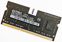Оперативная память для ноутбука Elpida SODIMM DDR3 2Gb 1600MHz 12800s CL11 (EBJ20UF8BDU5-GN-F) Б/У, фото 1