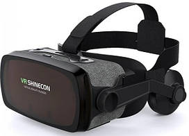 3D очки виртуальной реальности Shinecon VR SC-G07E, черные
