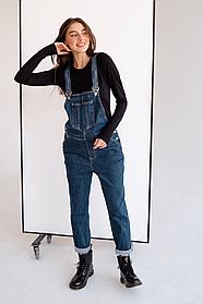 Стильный джинсовый комбинезон для беременных 4232488
