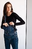 Стильный джинсовый комбинезон для беременных 4232488, фото 6