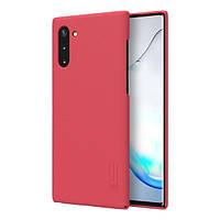 Накладка для Samsung Galaxy N970 Note 10 Nillkin Super Frosted Shield Red