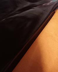 Натуральная кожа Наплак черно/желтый