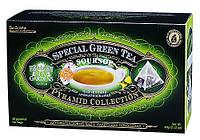 Зеленый чай San Gardens Сау Сеп пирамида-пакет