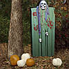 Декор для хэллоуина Призрачный Череп (125см) зеленый с серым 10088