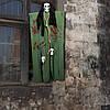 Декор для хэллоуина Призрачный Череп (95см) зеленый 10079
