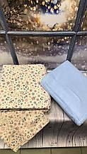 Постельное белье из фланели байка полуторный размер Cotton Collection лучшая цена