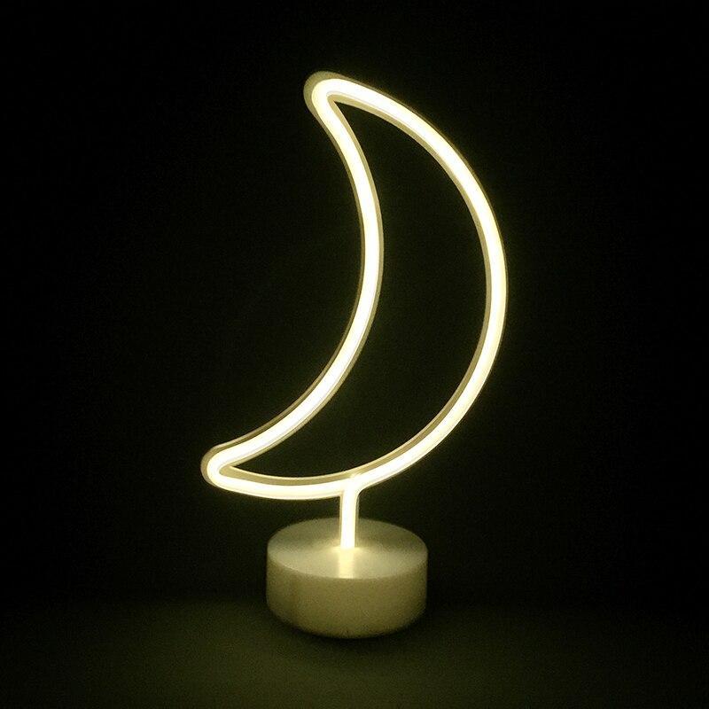 "Светильник ночник Neon lamp ""Moon"""