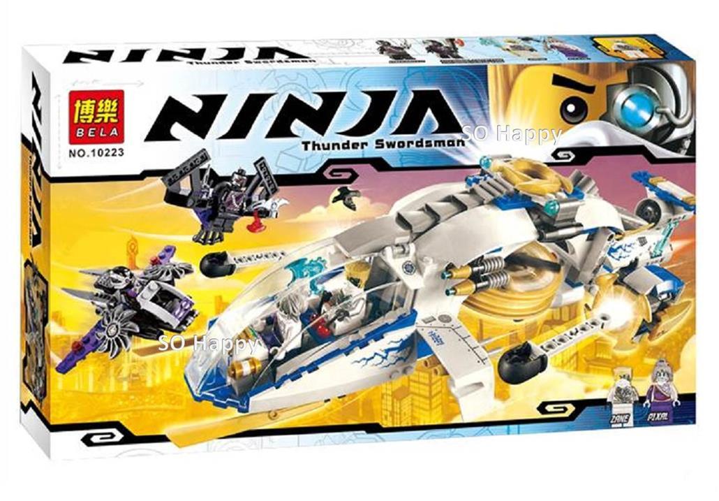 Конструктор Bela 10223 Ninjago Штурмовой вертолет Ниндзяго 516 деталей