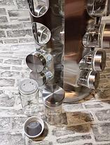 Подставка карусель для специй Original Spice Carousel, 16 емкостей, стекло, нержавеющая сталь, фото 3