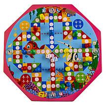 Деревянная игрушка-сортер 10 в 1, Лабиринт, фото 2