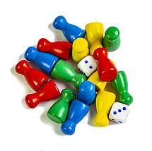 Деревянная игрушка-сортер 10 в 1, Лабиринт, фото 3