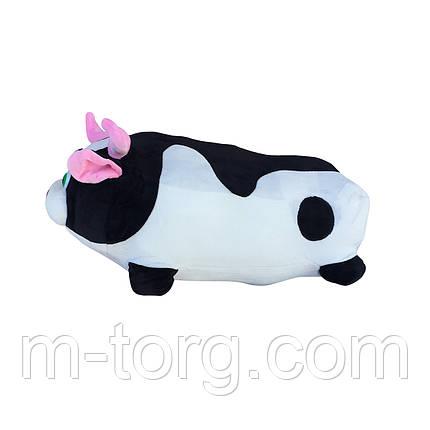 """""""бычок"""" игрушка-подушка + плед 120*120 см ткань микрофибра, фото 2"""
