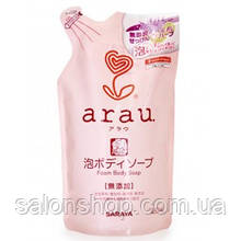 Arau мыло-пена для тела 450 мл, наполнитель