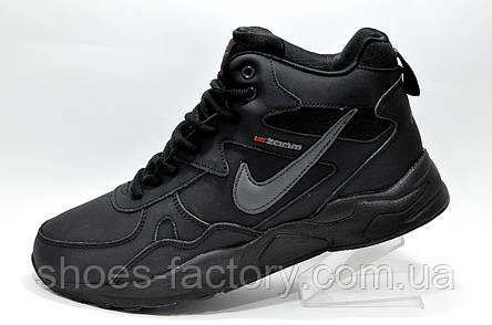 Зимние кроссовки в стиле Nike Air Zoom Span с мехом, фото 2