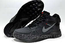 Зимние кроссовки в стиле Nike Air Zoom Span с мехом, фото 3