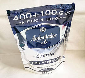 Ambassador Crema (Амбасадор Крема) растворимый кофе