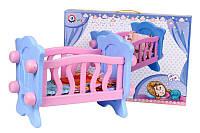 Ліжечко для ляльки з постіллю 4166 ТЕХНОК