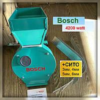 Млин Бош (Bosh) 4200 кВт (made in P.R.S.) Зернодробилка Bosсh BFS 4200 (ДКУ) дробилка кормов кормоизмельчитель
