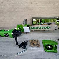 Электропила Sadovod (насадка на болгарку) + мультитул и фонарик в подарок