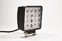 Светодиодная LED фара рабочая 48Вт,(3Вт*16ламп) Широкий луч