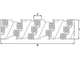 Фрези для надрізів в конструкційних елементах GS8 / GS9